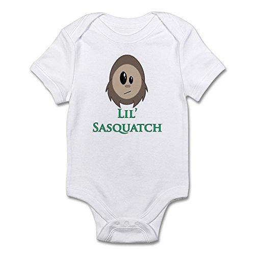 CafePress - Little Sasquatch/Bigfoot - Cute Infant Bodysuit Baby (Sasquatch Suit)