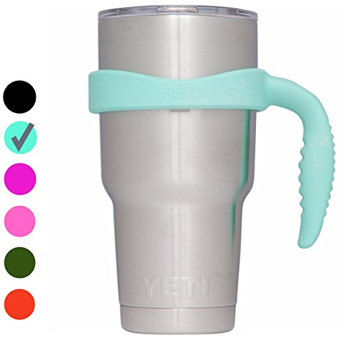 Grab Life Outdoors (GLO) - Handle For YETI Rambler 30 Oz Tumbler Cup - Fits Ozark Trail, RTIC & more - Handle Only (Seafoam)