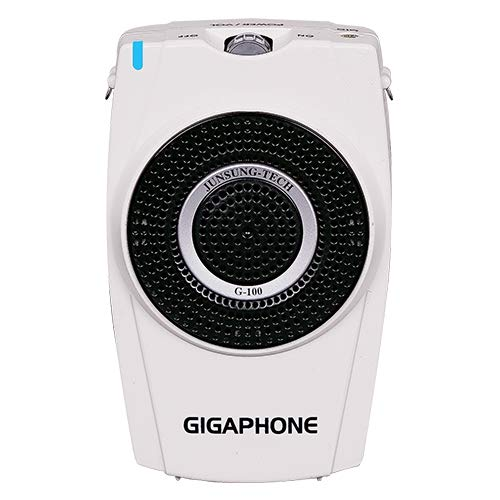 NEW GIGAPHONE G100 Portable Voice Amplifier [30W] with Microphone