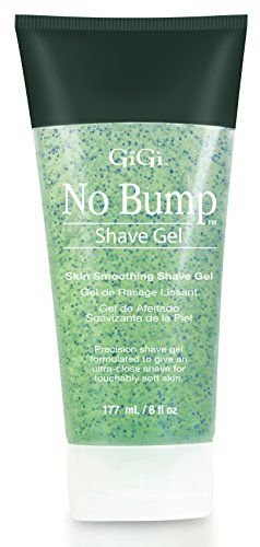 GiGi No Bump Skin Smoothing Shave Gel with Salicylic Acid and Chamomile Extract, 6 oz ()