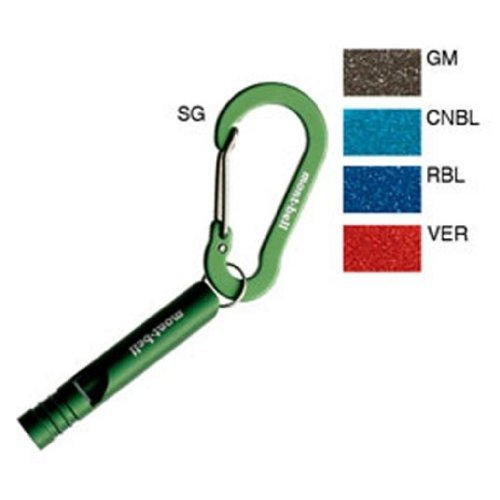 mont-bell : モンベル 1124342 キーカラビナ ホイッスルナスカン 5 セージ(SG)の商品画像