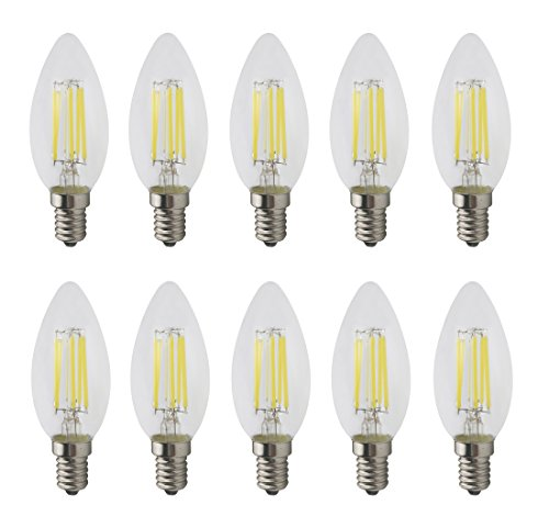 Led Candle Light Bulbs Cool White in US - 7