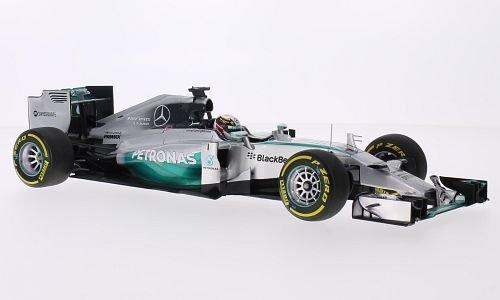 Mercedes F1 W05 hybrid, No.44, Mercedes AMG Petronas F1 team, Petronas, formula 1, GP Abu Dhabi, 2014, Model Car, Ready-made, Minichamps 1:18 -