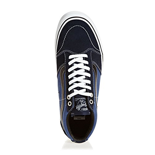 Vans Mens Tnt Sg Skate Shoe Dress Blues / Stv Navy / Nero