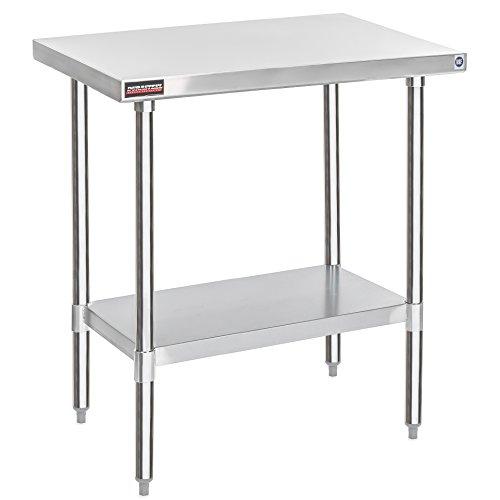 (DuraSteel Stainless Steel Work Table 30