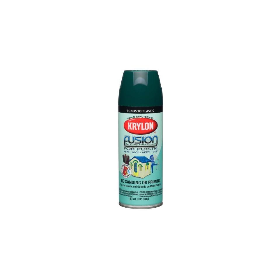 Krylon K02324000 Fusion For Plastic Aerosol Spray Paint, 12 Ounce