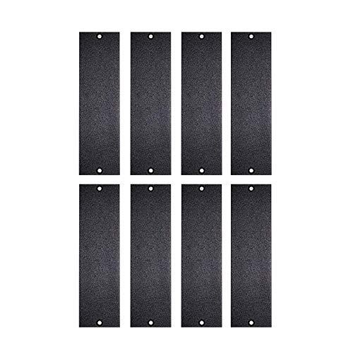 1u Blank Panel Set - 1U 500 Series Universal Blank Panel   Made in USA (8 Pack)