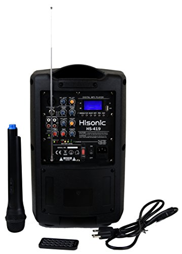 hisonic portable pa - 8