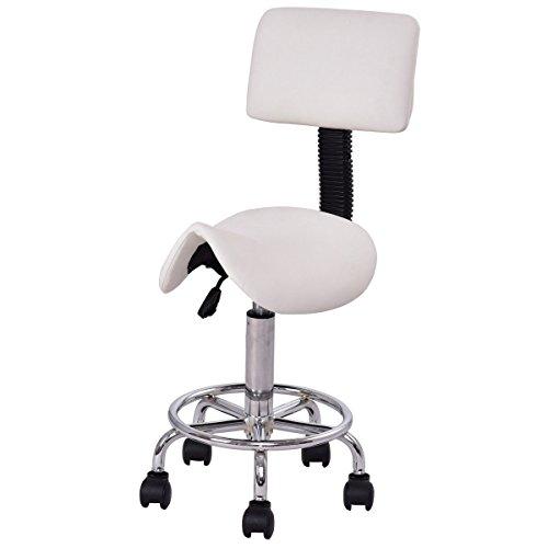 Giantex Hydraulic Rolling Adjustable Backrest