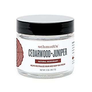 Schmidt's Natural Deodorant, Cedarwood + Juniper, 2 Ounce