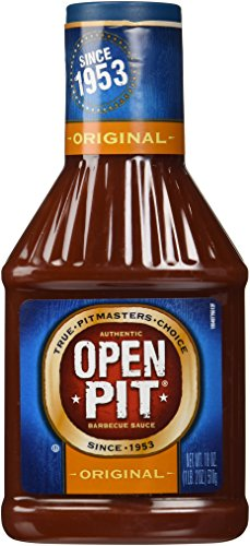 Open Pit Original BBQ Sauce, 18-Ounce (Pack of 3) (Best Barbecue Sauce Brand)