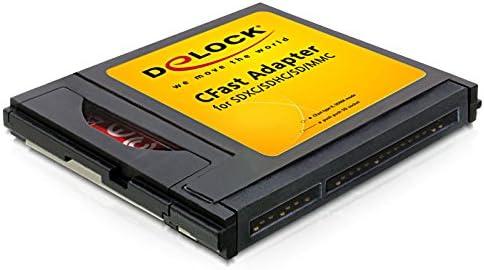 Delock Cfast Adapter Für Sd Mmc Speicherkarten Computer Zubehör