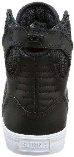 Supra SKYTOP - Zapatilla alta de lona mujer negro - Schwarz (BLACK / BLACK - WHITE BBW)