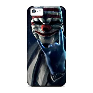 Shock Absorbent Hard Phone Cover For Apple Iphone 5c With Support Your Personal Customized Nice Payday 2 Mask Pictures ZabrinaMcVeigh