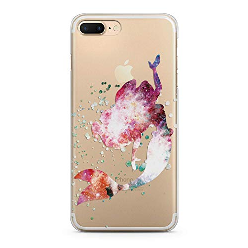 (Lex Altern TPU Case for iPhone Apple Xs Max Xr 10 X 8+ 7 6s 6 SE 5s 5 Clock Cartoon Wonderland Figure Slim fit Pattern Soft Lightweight Cover Abstracts Smooth Print Design Clear Gift Flexible Alice)
