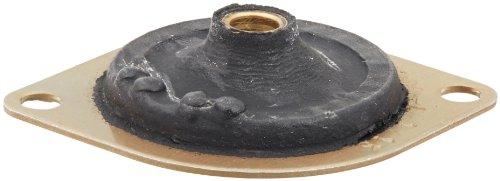 Lord 100 Series Aluminum Diamond Plateform Mount, 4 lbs Axial Load Rating, 0.41