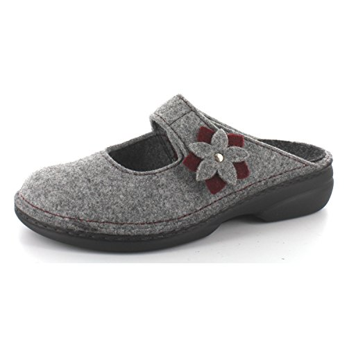 FINNCOMFORT 6560-901198 - Zapatillas para mujer gris - gris