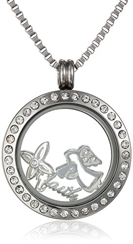 Charmed Lockets Pendant Necklace with