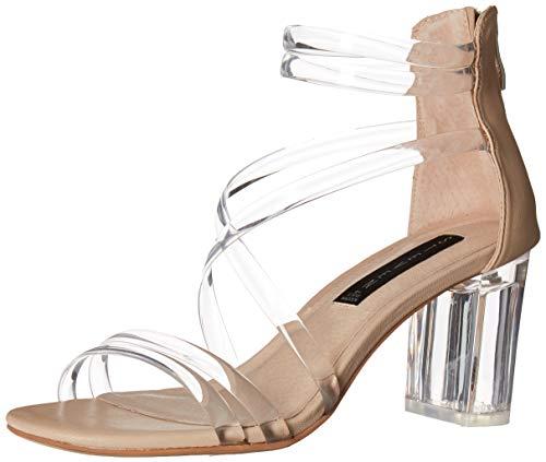 STEVEN by Steve Madden Women's Lexis Heeled Sandal Blush Multi 8 M US ()