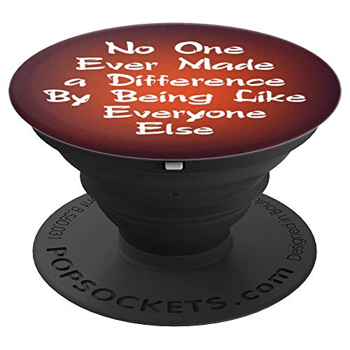 Circus PT Barnum Ringmaster Quote No One Ever Made Orange - PopSockets Grip and Stand for Phones and Tablets