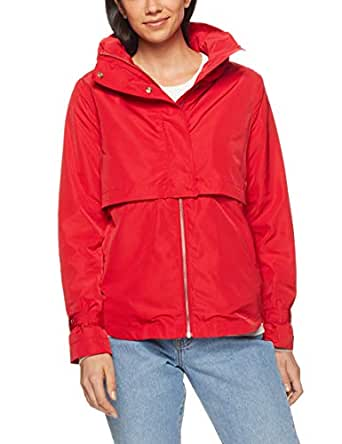 French Connection Women's The Anorak, Red, Eight