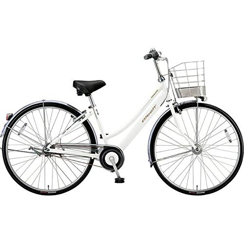 ブリヂストン シティサイクル自転車 アルベルト A75LB P.シャンパンホワイト P.シャンパンホワイト   B07J2Y3CBH