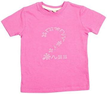 gogoritas Camiseta | Camisa Rosa Fabricado con Swarovski Elements, Número 1-5, 12-18 Meses (76-86cm), Zahl 1: Amazon.es: Hogar