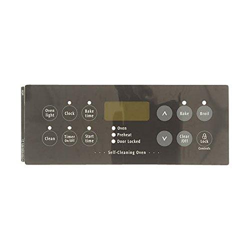 Frigidaire 316419300 Overlay for Range