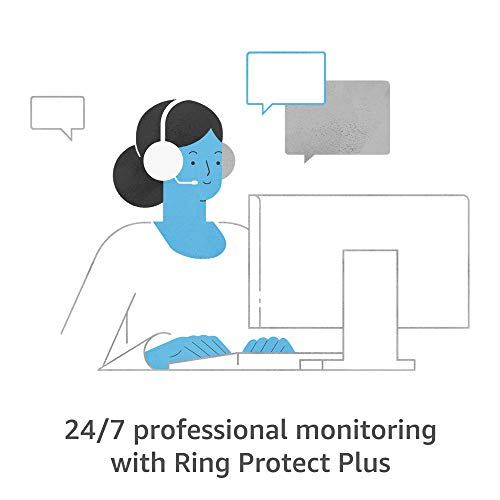 Ring Alarm 8-piece kit (2nd Gen) with Ring Video Doorbell (2nd Gen) and Ring Protect Plus Plan with monthly auto-renewal