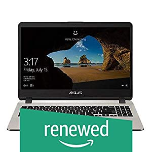 (Renewed) Asus X507UB-EJ306T 15.6″ FHD Screen (Intel Core i3 7020U / 4GB DDR4 / 1TB HDD / nVidia MX110 2GB Graphics / Finger Print Reader / NO ODD / WIN10 / Gold Color / 1.68 Kgs