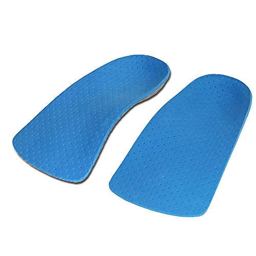 (3/4 Orthotics Insoles with High Arch Supports,Orthotic Inserts for Corrects Over-Pronation,Fallen Arches, Fat Feet - Plantar Fasciitis, Heel Spurs, Bunions)