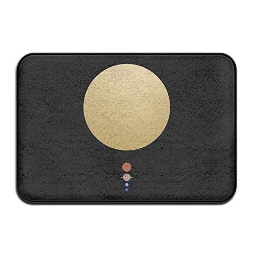 Wagroo Solar System Doormats/Entrance Rug Floor Mats(15.7x23.6 inch) by Wagroo