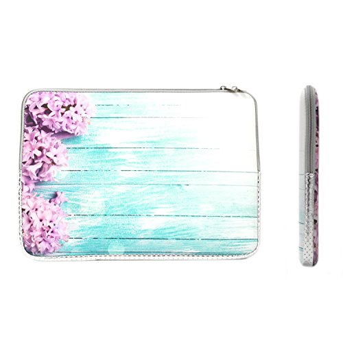 TOP CASE - Vibrant Summer Series Zipper Sleeve Bag Case Compatible with All Laptop 13