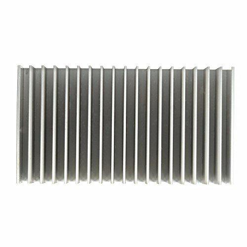 ELEGIANT Cooling Module, 7.1x3.9x1.8inch Aluminum Heat Sink Heatsink Cooler Fin for High Power LED Amplifier Transistor by ELEGIANT (Image #4)