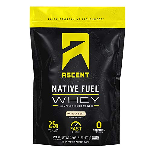 Ascent Native Fuel Whey Protein Powder - Vanilla Bean - 2 lbs ()