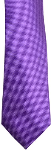 Sean John Unsolid Solid Neck Tie, Purple