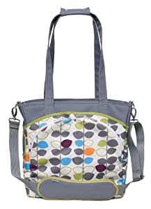 JJ Cole Mode Diaper Tote Bag, Mixed Leaf (Discontinued by Manufacturer)