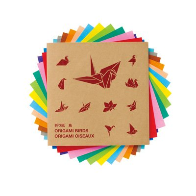 Amazon Muji Japan Origami Set With Guide Birds