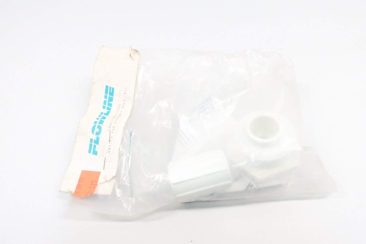 FLOWLINE LM45-7001 PVC Switch PAK Fittings 2IN Plug 3//4IN Adapter D626458