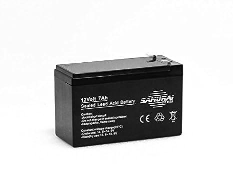 Samurai power 12v 7ah agm batteria al piombo sigillata per ups