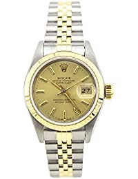 Datejust automatic-self-wind womens Watch 69173 (Certified Pre-owned)