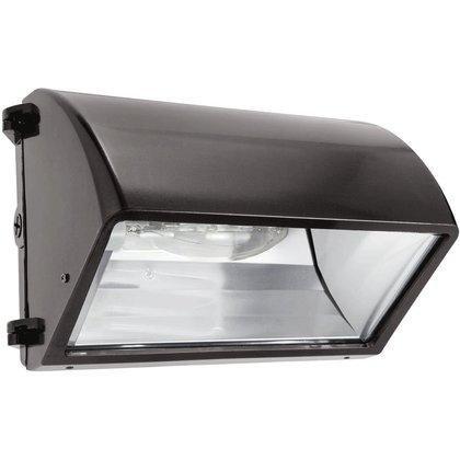RAB Lighting WP2CSN150 WP2 Cutoff High Pressure Sodium Wallpack, ED17 Type, Aluminum, 150W NPF Power, 16000 Lumens, 120V, Bronze Color
