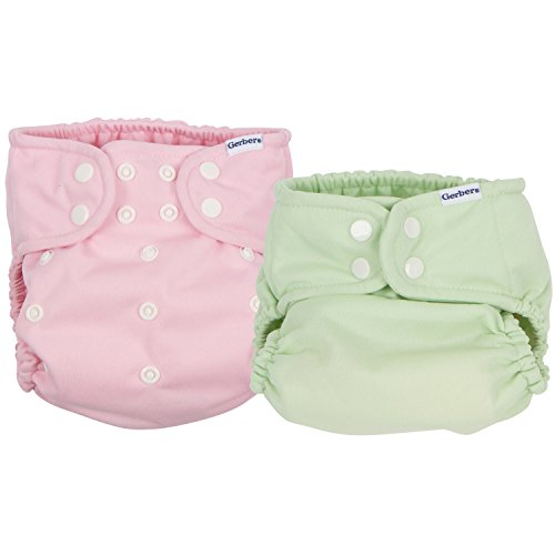 Gerber Piece Cloth Diaper Green