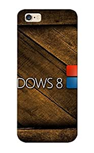 Podiumjiwrp Brand New Defender Case For Iphone 6 Plus (windows8 Brown ) / Christmas's Gift