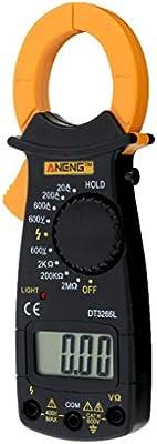 Car Electronics & Accessories ANENG AC Digital Clamp DT3266L LCD Display Digital Multimeter Clamp Meter Probe