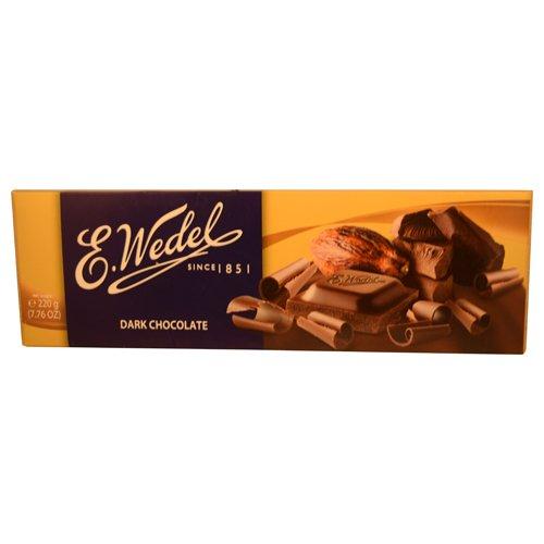 E. Wedel Dark Chocolate (220g/ 7.8oz)