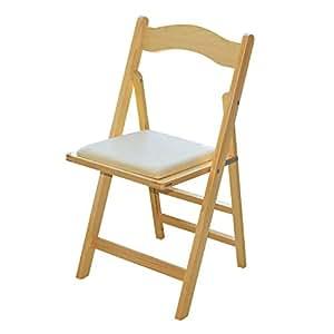 JinQi sillas plegables de madera, silla plegable portátil ...