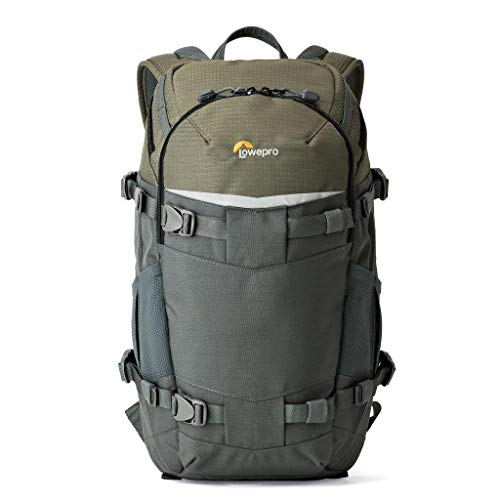 Lowepro Flipside Trek BP 250 AW Backpack for Camera - Grey/Dark Green