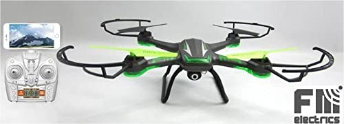 fm108 W de FM de Electrics | XXL - Dron cuadricóptero con WiFi FPV ...