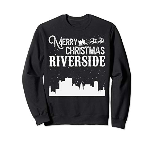 Merry Christmas Y'all Riverside City crewneck